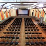 Auditorium with chairs